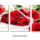 Roses and Pearls (triptych) by vitocork
