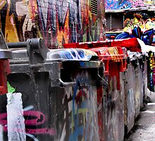 funky bins by jacindamcdowell