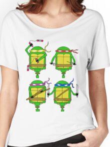 Teenage Mutant Ninja Turtles Women's Relaxed Fit T-Shirt