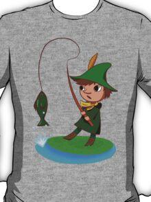 Snufkin goes fishin' T-Shirt