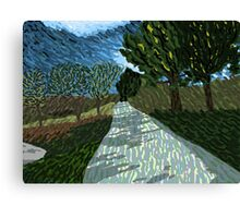 Windswept Pathway Canvas Print