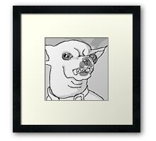 What Do You Mean No Biscuits ? Framed Print