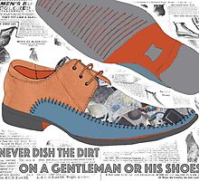 A Gentleman and his shoes. by TezIllustrator