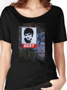 George Best Portraiture  Women's Relaxed Fit T-Shirt