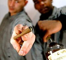 Spliff and Henney by PeterGBooth