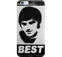 George Best Mono iPhone Case/Skin