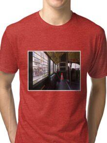 Mid-Century Transport To A Post Century World Tri-blend T-Shirt