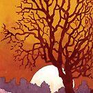 Rising Moon by ian osborne