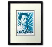 Castiel - Commander Framed Print