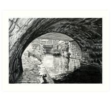 Gauxholme Highest Lock Art Print