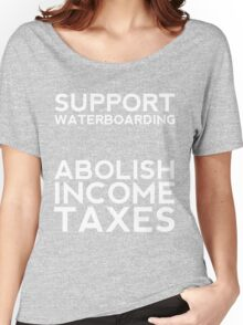 Income Tax - The REAL Torture Women's Relaxed Fit T-Shirt