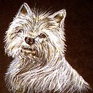 Scottie Dog Print by sharpie