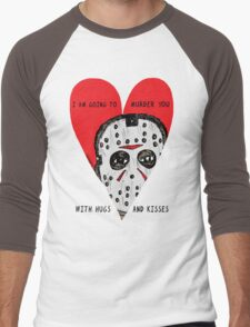 Murder Love Men's Baseball ¾ T-Shirt