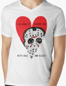Murder Love Mens V-Neck T-Shirt