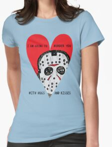 Murder Love Womens Fitted T-Shirt