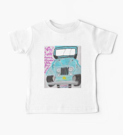 I'll Never Abandon This Jeep Ever Baby Tee
