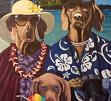 American Dogs in Hawaii by tomAartist