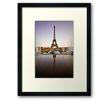 French Icon Framed Print