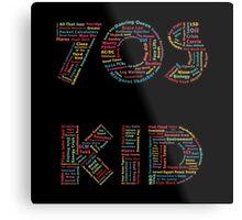 70s Kid Metal Print