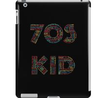 70s Kid iPad Case/Skin