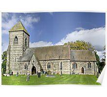 St Paul's Church, Scropton, Derbyshire Poster