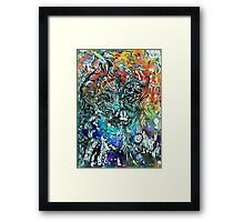Terminal Frost. Framed Print