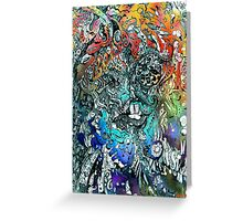 Terminal Frost. Greeting Card