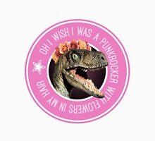 Velociraptor Punkrocker Unisex T-Shirt
