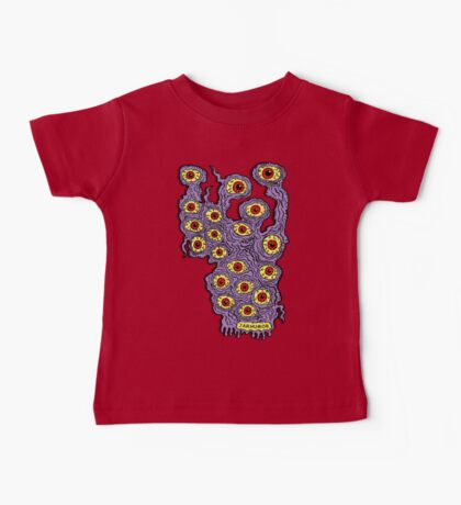 Many Eyes Monster Baby Tee