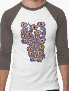 Many Eyes Monster Men's Baseball ¾ T-Shirt