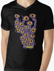 Many Eyes Monster Mens V-Neck T-Shirt
