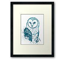 Owl Tee Framed Print