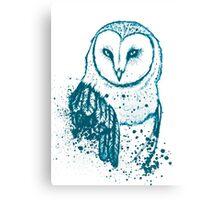 Owl Tee Canvas Print