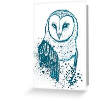 Owl Tee Greeting Card