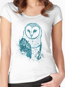 Owl Tee Women's Fitted Scoop T-Shirt
