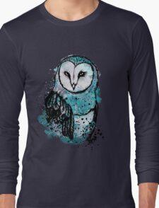 Owl Tee Coloured Long Sleeve T-Shirt