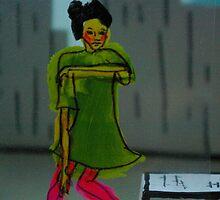 Dancer - moving seriously by Nathalie van Bergen