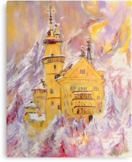 Neuschwanstein Castle  by Helena Bebirian