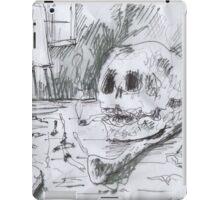 THE SMOKING ARTIST(C2007) iPad Case/Skin