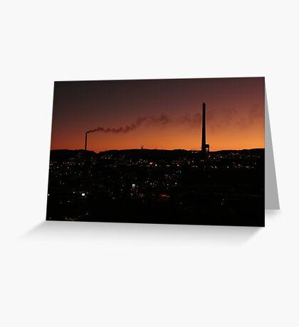Mt. Isa at 7pm Greeting Card