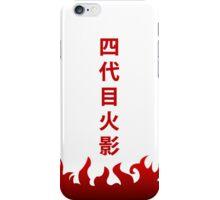 Minato Hokage Name iPhone Case/Skin