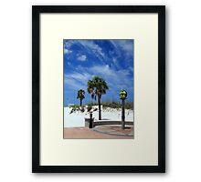 Turtle Beach, Clearwater Framed Print