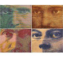 Franc Faces Photographic Print
