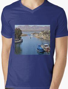 Channel Mens V-Neck T-Shirt