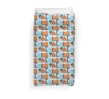 hawaii motel Duvet Cover