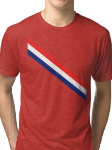 Barber Stripes Tri-blend T-Shirt