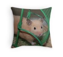 I'm Working Out! Throw Pillow
