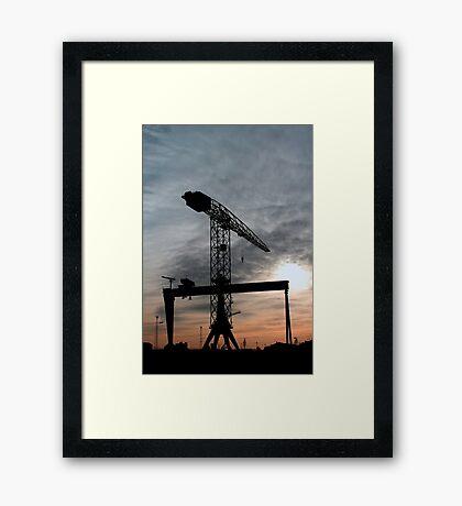 Harlands Giants Framed Print