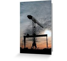 Harlands Giants Greeting Card