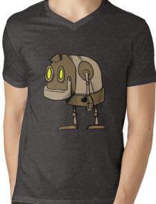 Little Robot Mens V-Neck T-Shirt